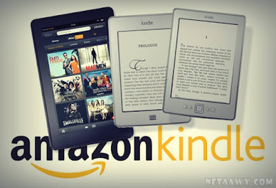 موقع-Amazon-Kindle