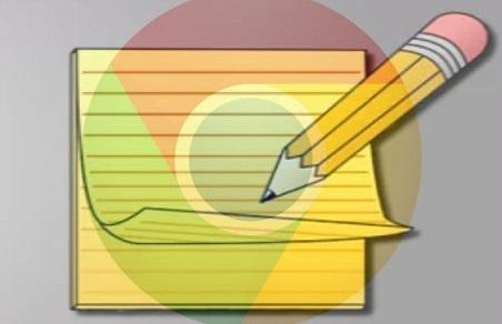 تحويل متصفح جوجل كروم الى مفكرة لكتابة اي شيئ تريد و حفظه