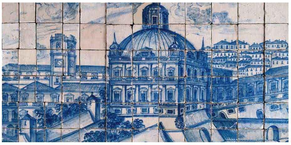 Na companhia do gato portugues tiles azulejos portugueses for Edificio de los azulejos