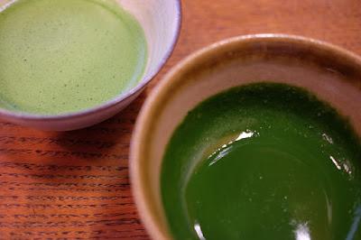 一保堂茶舗 抹茶 薄茶と濃茶