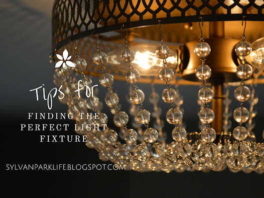 Tips for Finding the Perfect Light Fixture