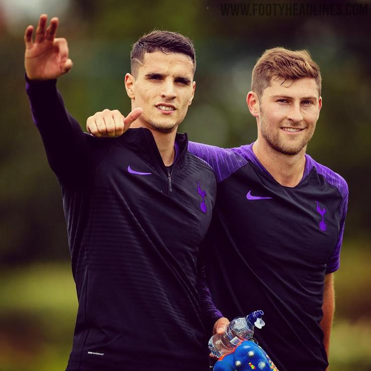 6b849b590 Nike Tottenham Hotspur 18-19 Training Kit Released - Footy Headlines