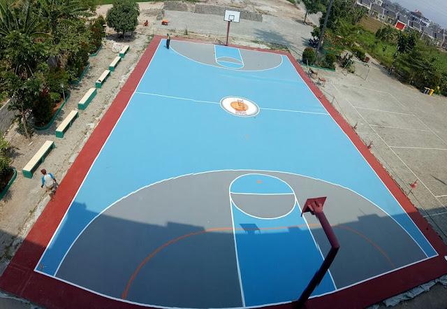 Jasa Pengecatan Lapangan Basket Termurah