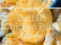 Easy Buffalo Chicken Pasta Bake Recipe