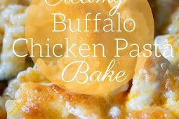 Easy Buffalo Chicken Pasta Bake Recipe