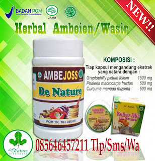 Obat Herbal Ambejoss De Nature dan Salep Salwa Djie