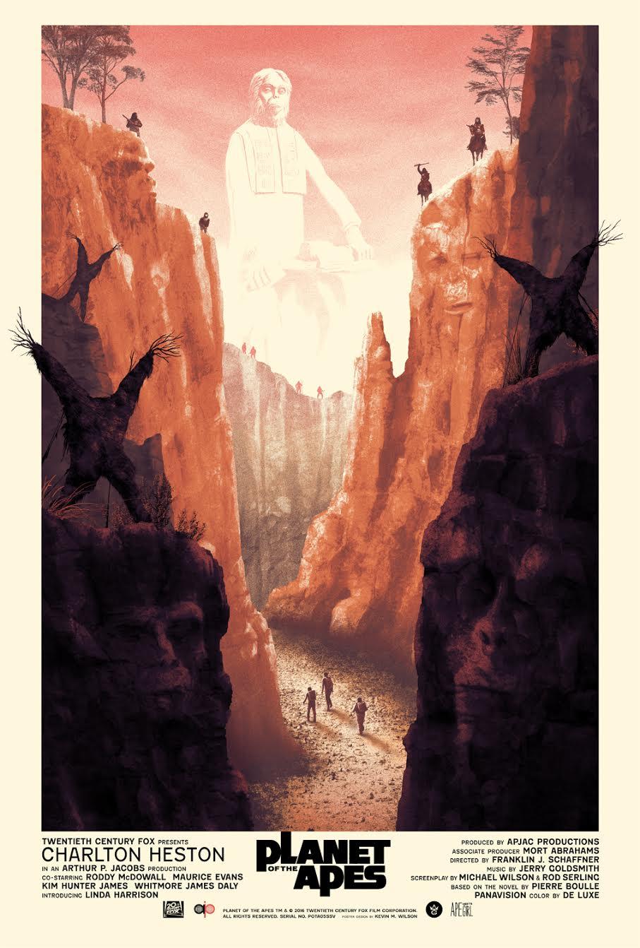 inside the rock poster frame blog kevin wilson planet of