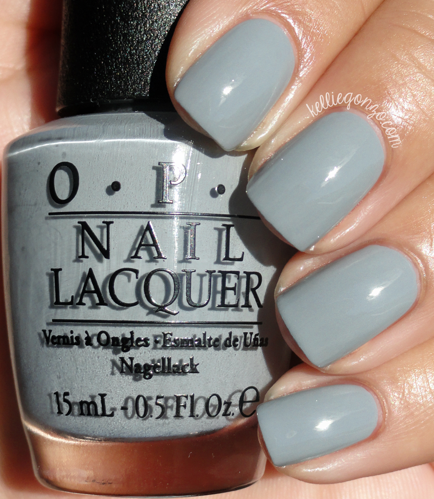 kelliegonzo opi fifty shades of grey collection swatches review