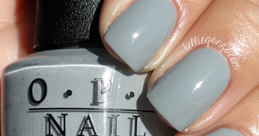 Kelliegonzo Opi Fifty Shades Of Grey Collection Swatches Amp Review
