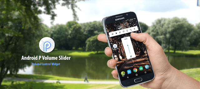ANDROID P VOLUME SLIDER APK to Download