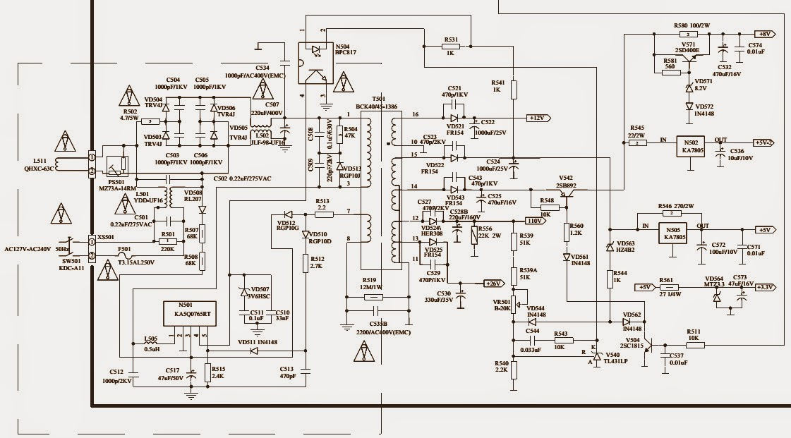 Schematic Circuit Diagram Str  wiring diagrams image free  gmaili