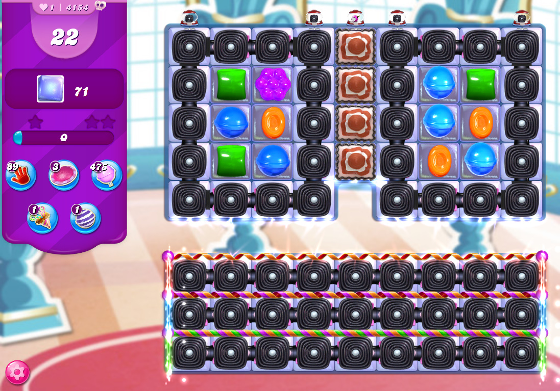 Candy Crush Saga level 4154