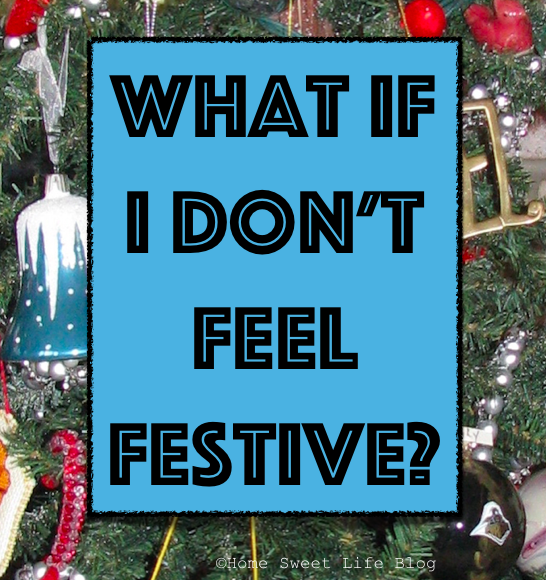 Holiday Blues, Not Feeling Festive, Loss of Joy