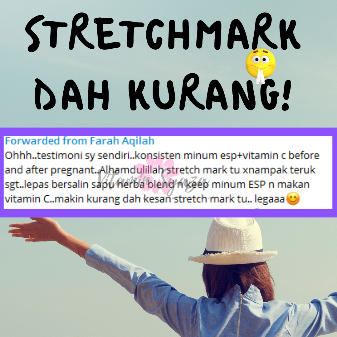 TESTIMONI SET STRETCH MARK SHAKLEE