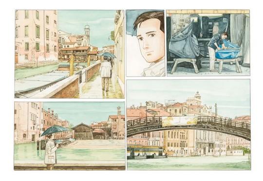 L'artbook L'Art de Jiro Taniguchi est disponible chez Casterman