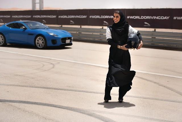 HISTORIC DRIVE BY SAUDI WOMAN AS DRIVING BAN LIFTS