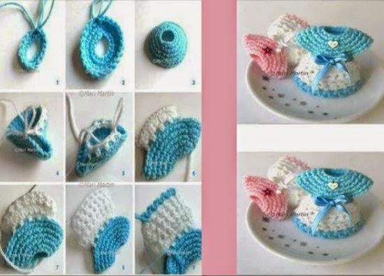 miniaturas de crochet, tejer patrones en miniatura