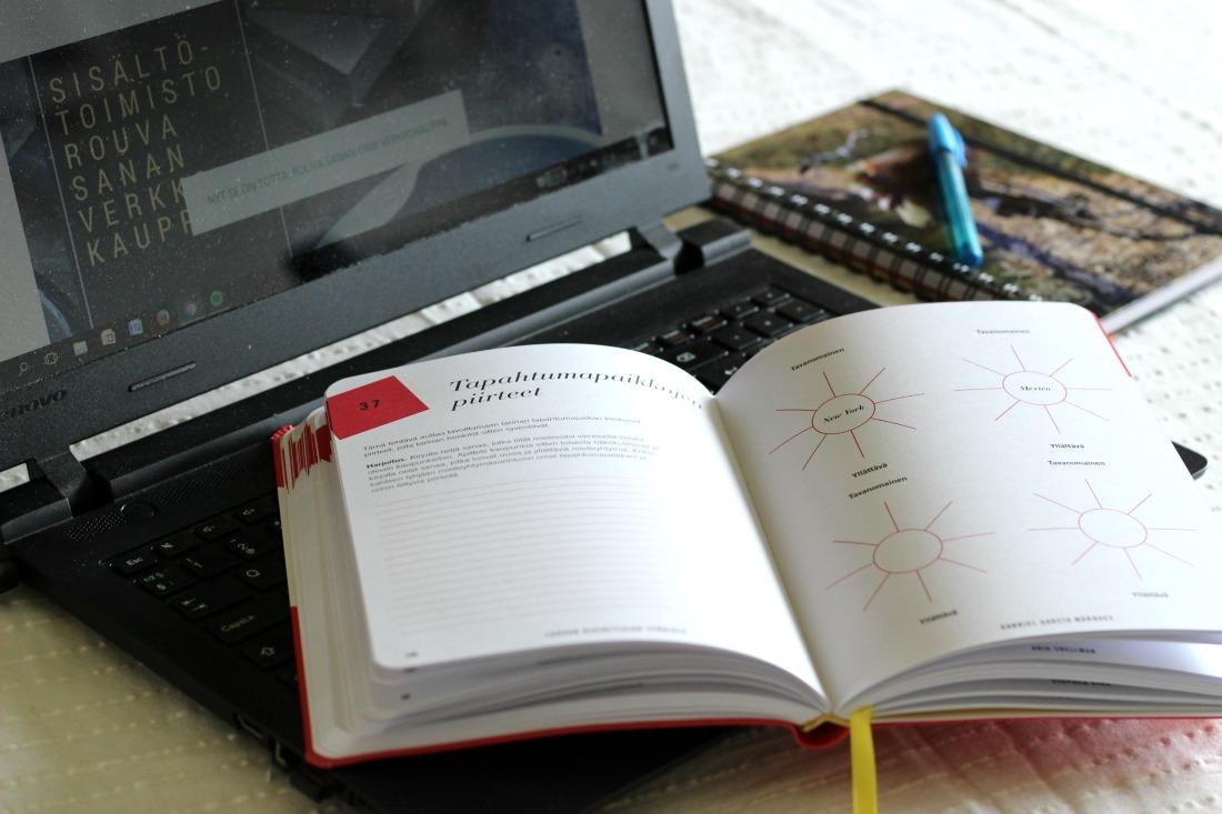Luovan kirjoittajan työkirja - 20 kirjailijaa, 70 sormiharjoitusta