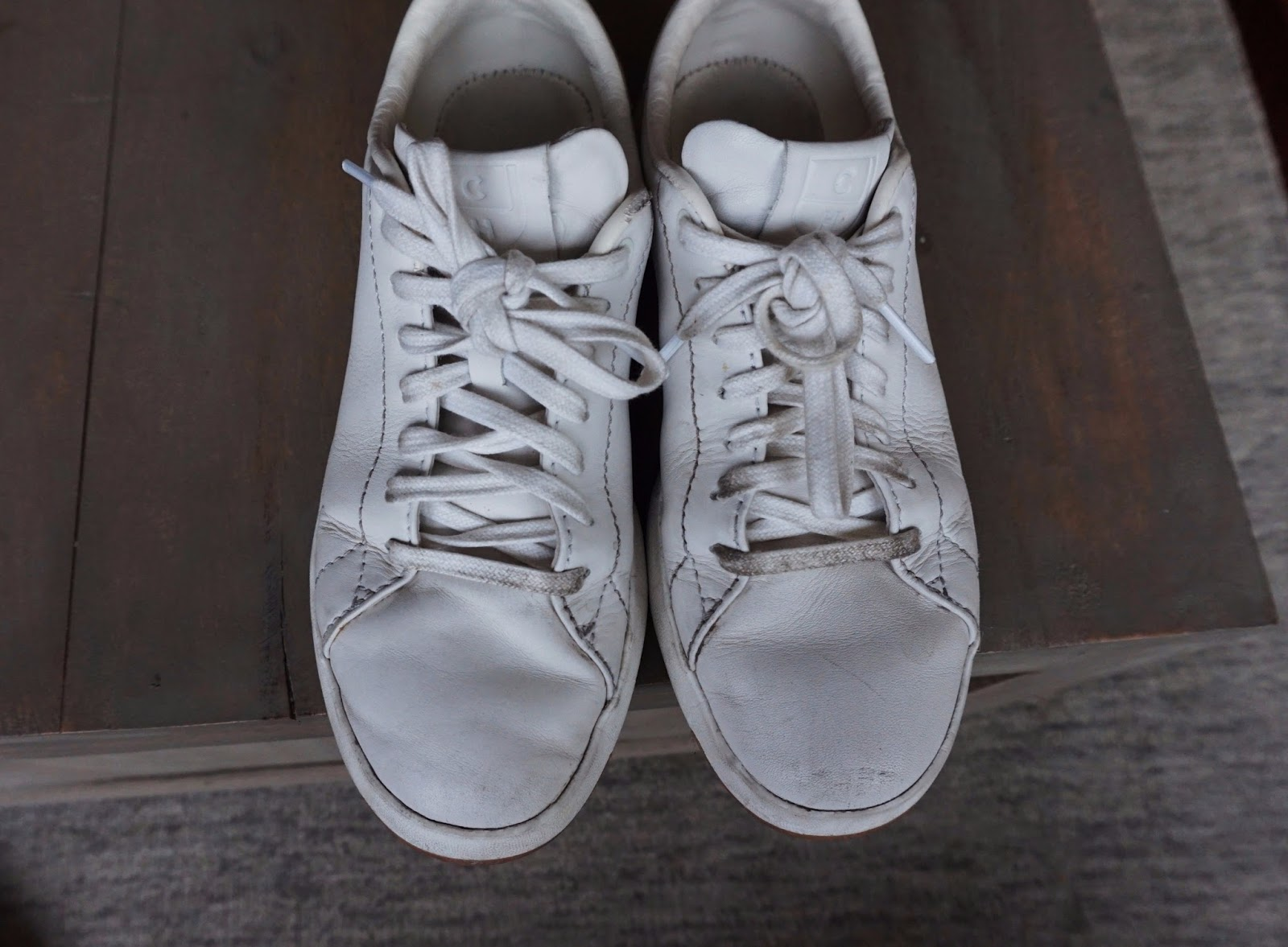How To Clean White Leather Shoes Cole