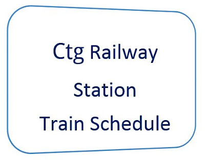 chittagong railway station train schedule