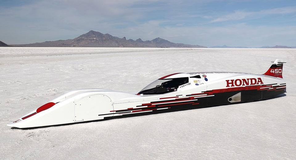 0.6-Litre Three-Cylinder Honda Sets World Speed Records