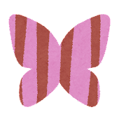 春のマーク「蝶」
