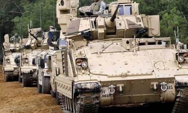 350 TOMA Bradley στον Ελληνικό Στρατό!