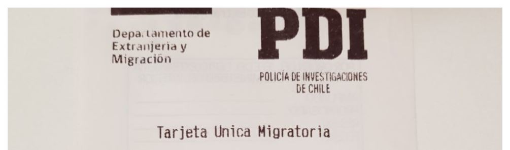 PDI (Policia de Investigaciones de Chile)