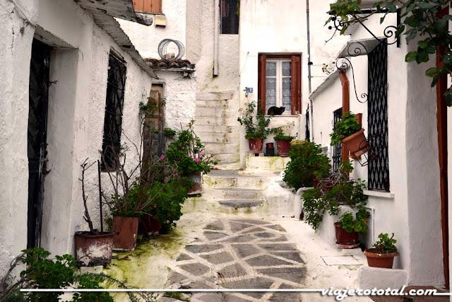 Barrio de Anafiotika - Atenas