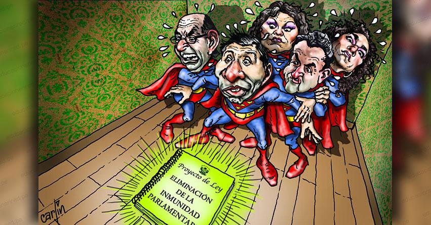 Carlincaturas Miércoles 2 Enero 2019 - La República