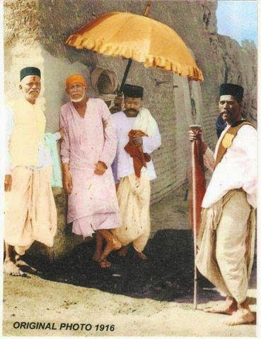 Sai Baba Original Picture 1916