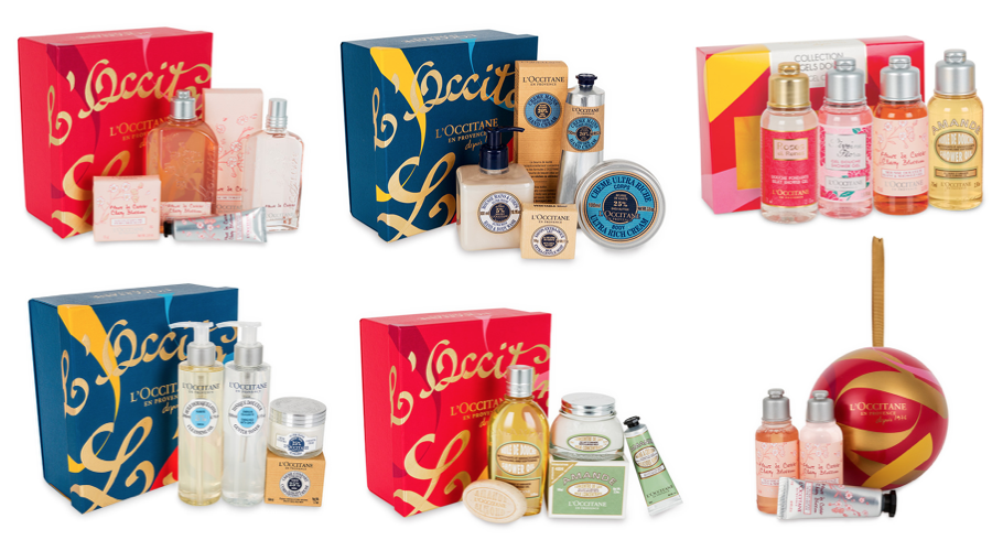 Christmas Gifts with L'Occitane
