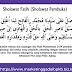 Doa - sholawat fatih