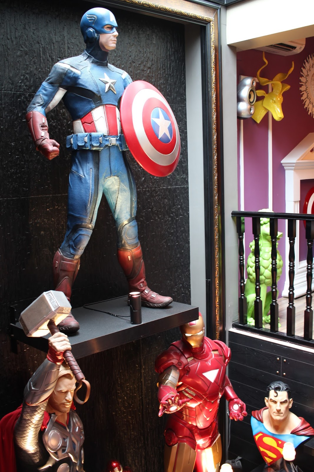 Hungry Heroes First Superhero Theme Cafe Amp Restaurant In