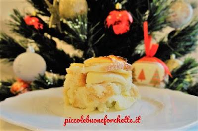 foto Ricetta dolce con pane e mele per bambini