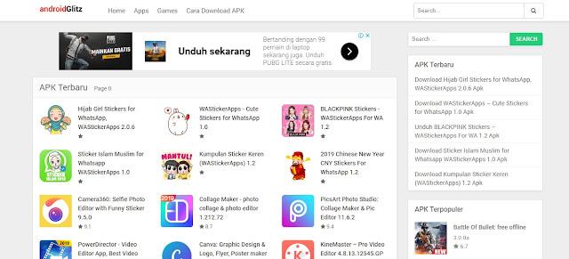 AndroidGlitz, Situs Download APK Android Terlengkap dan Aman