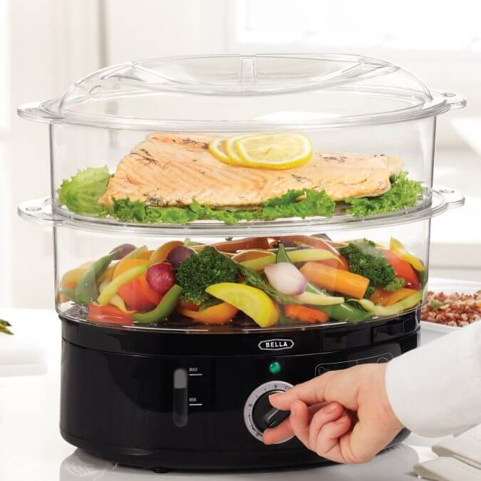 29 Life-Saving Kitchen Inventions We Wished We Had In Our Own House - BELLA Healthy Food Steamer