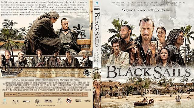 Capa Bluray Black Sails Segunda Temporada [Exclusiva]