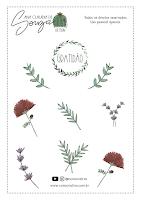 Adesivos Flores