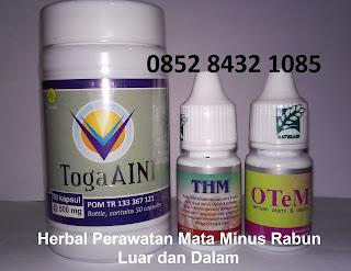 Obat Herbal Alami Toga Aini untuk Mata minus rabun dan kesehatan penglihatan