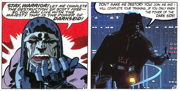 Darkseid and Darth Vader - separated at birth?
