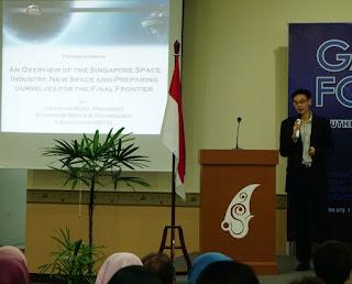 Jonathan Hung, Singapore Space & Technology Association