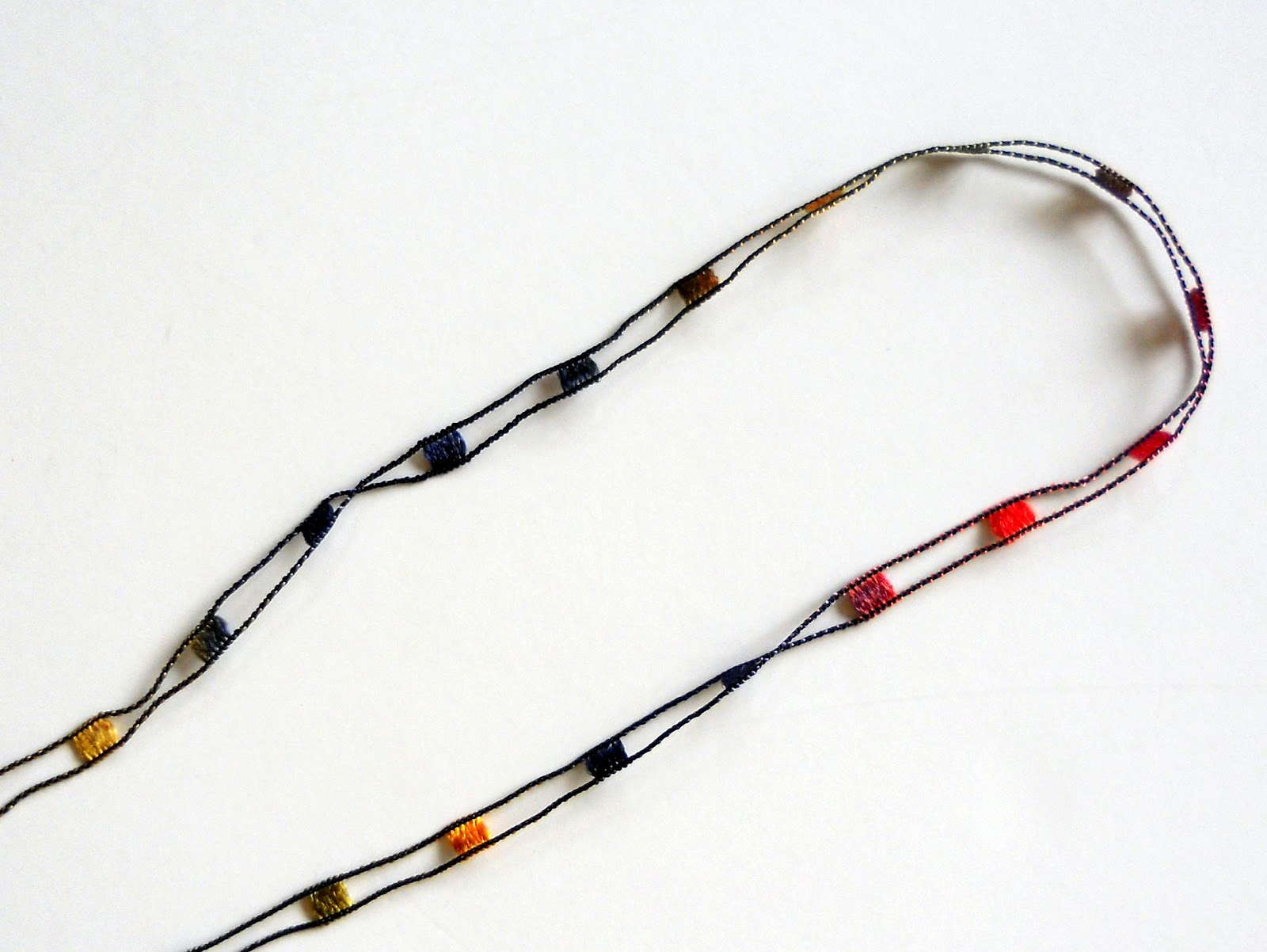 Just Another Hang Up: Trellis Necklace Tutorial