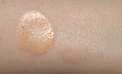 Pür Cosmetics Correcting Primer Illuminate & Glow Peach Swatch