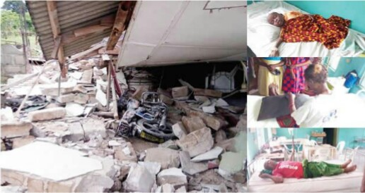 Tears As 100-Year-Old Church Collapses In Delta State