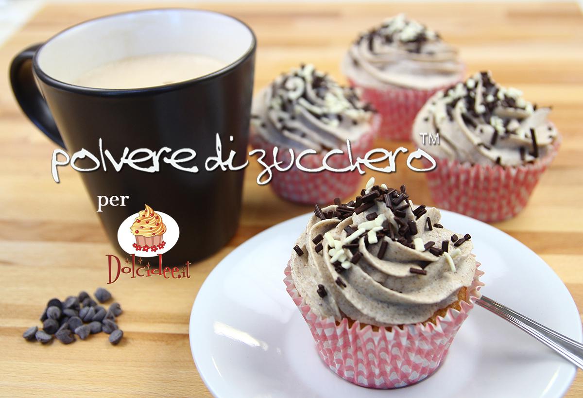 ricetta cupcake cappuccino idea cake design polvere di zucchero