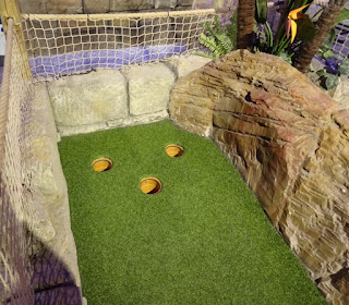 Lost Valley Adventure Golf at Amazonia in Bolton