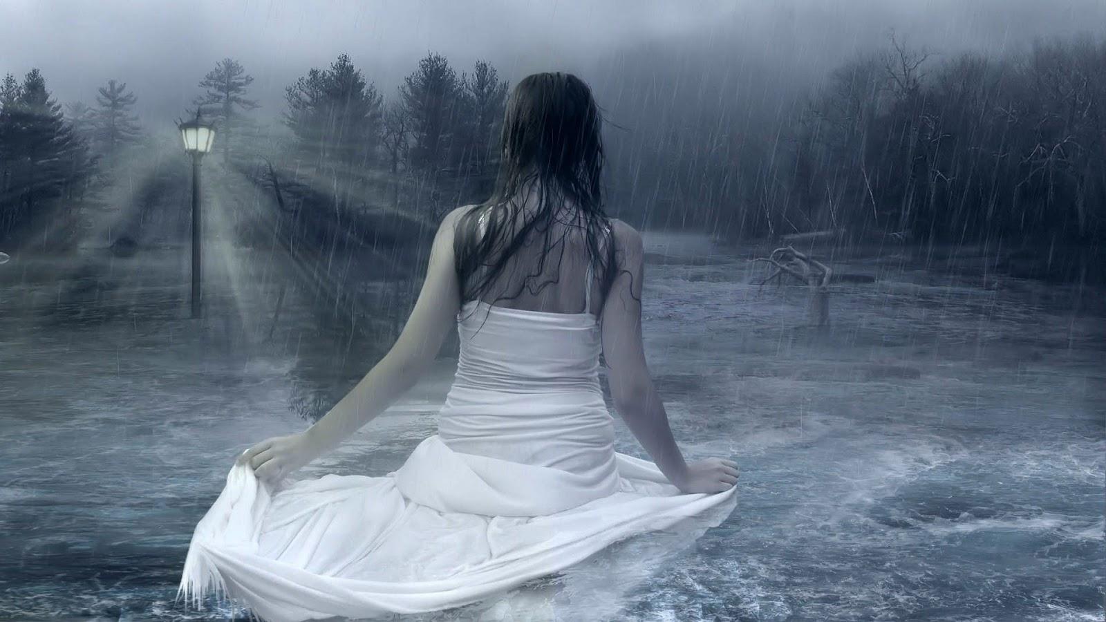 Leyendas con enseñanzas Mujer-bajo-la-lluvia