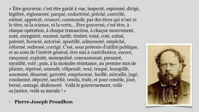 Pierre-Joseph Proudhon anarchisme Thibault Isabel
