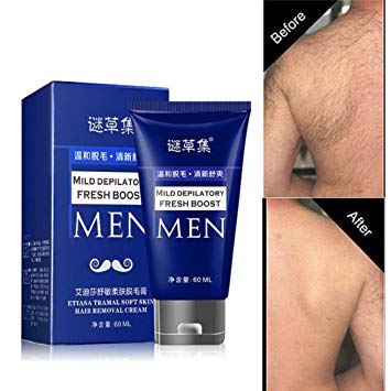 permanent hair removal cream for men